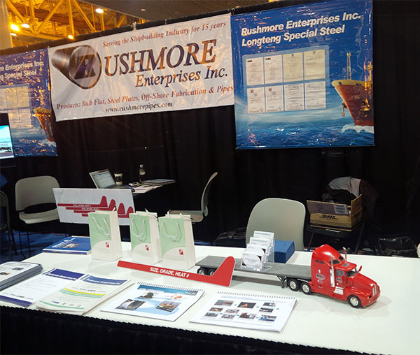 Rushmore Enterprises Inc at International Workboat Show 2014