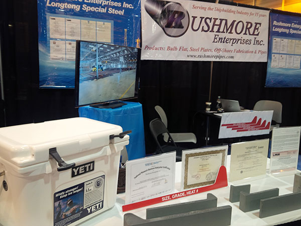 Rushmore Pipes at International Workboat Show 2014