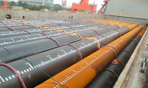Piling Pipes