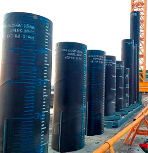 Pipling Pipe - Custom Made Piling Pipe