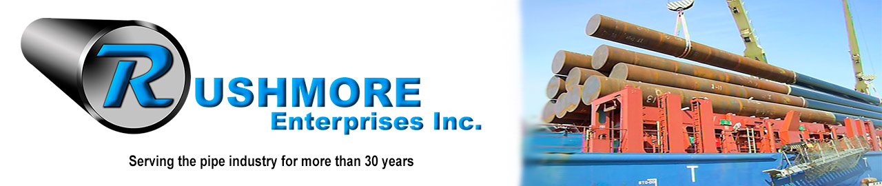 Rushmore Enterprises Inc - Serving the pipe industry for more than 30 years.